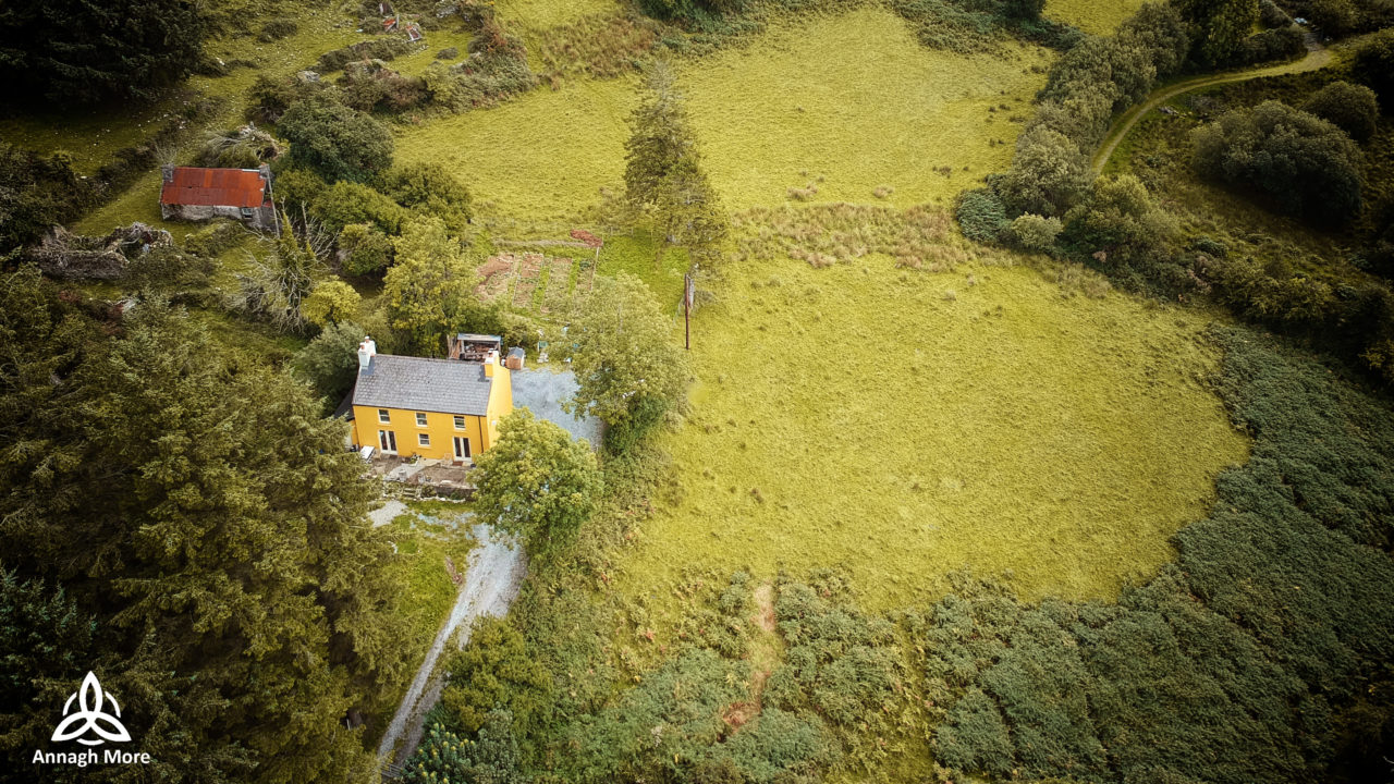 Annagh More seen from above Drone Photo